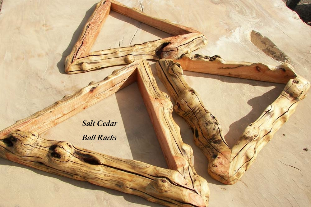 Salt Cedar Ball Rack