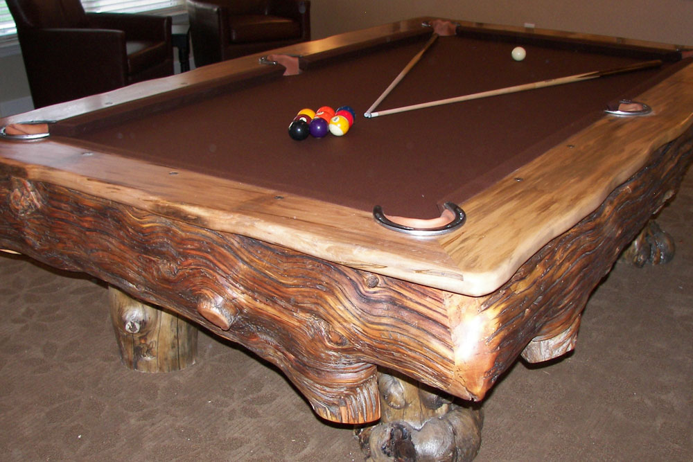 Pool Table by Roaring Fork Custom Billiards