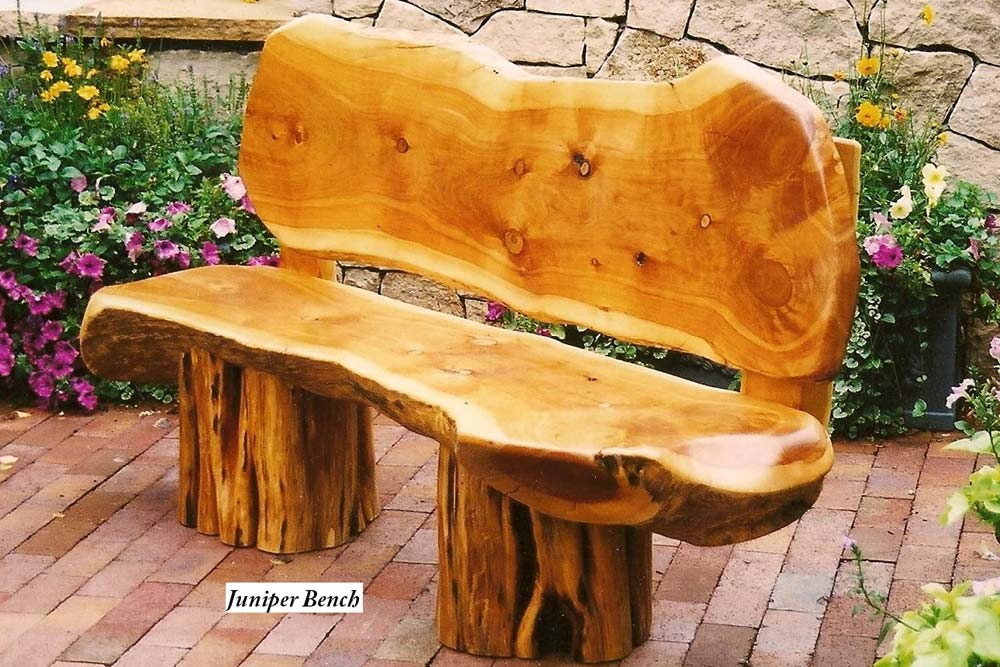 Juniper Wood Bench