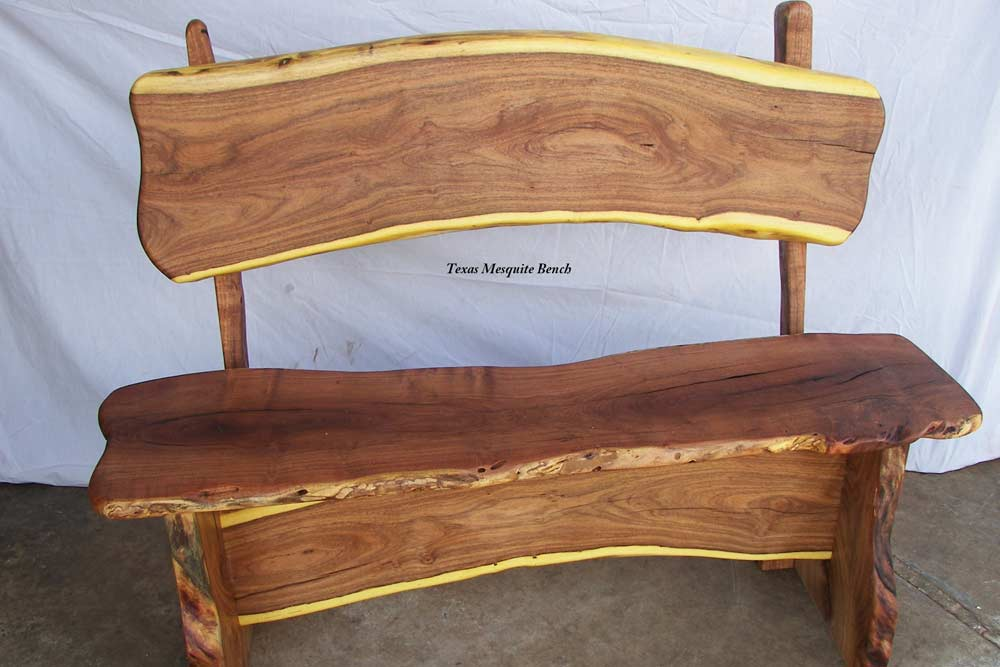 Texas Mesquite Bench