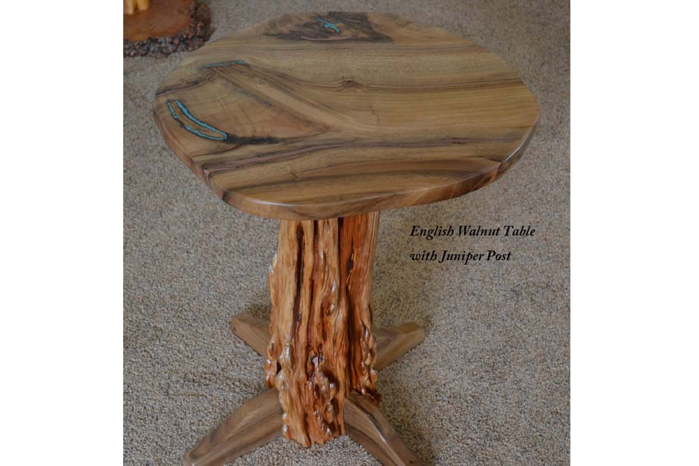 English Walnut Side Table