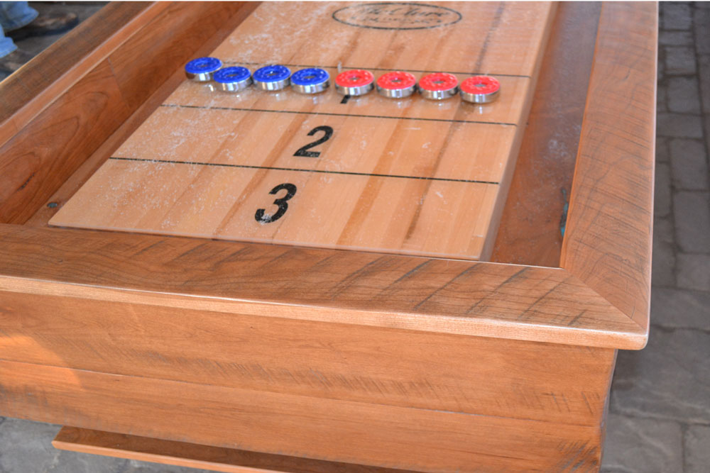 Custom Shuffleboard Table