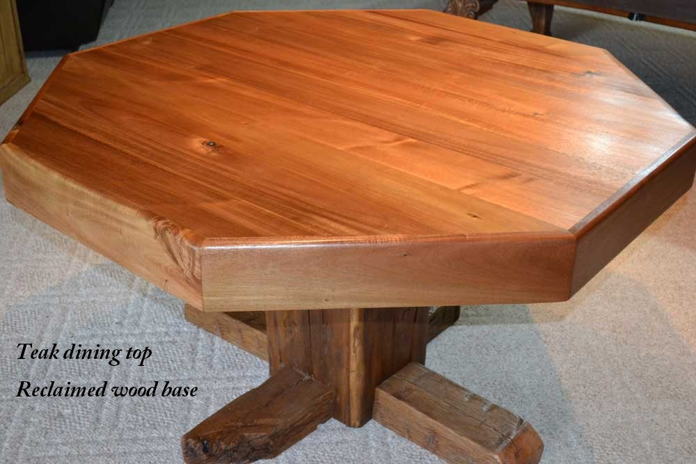 Custom Teak Dining Table