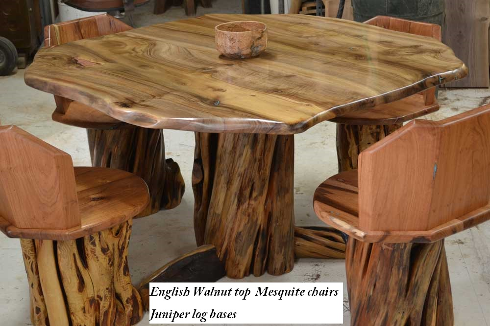Custom English Walnut Dining Table