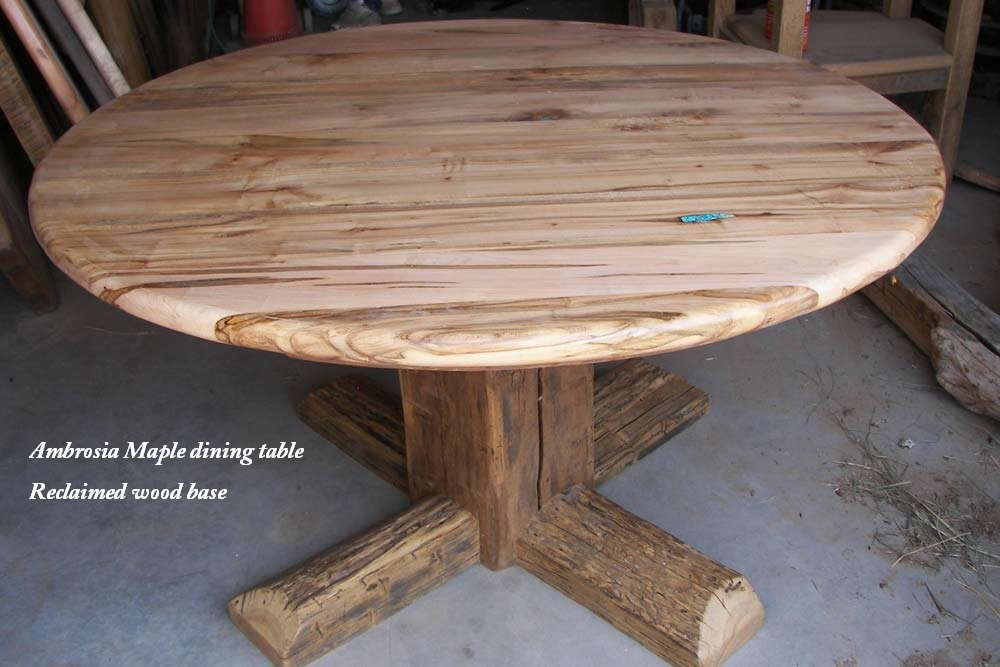 Custom Ambrosia Maple Dining Table